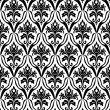 Black and white seamless pattern — Stock vektor