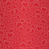 Valentine seamless background — Stock Vector