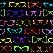 Seamless of solar glasses — Stock Vector