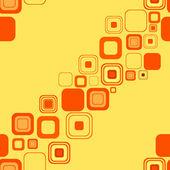 Seamless orange background — Stock Vector