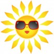 Sun icons. Vector illustration — Stockvector #1731320