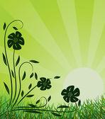 Fondo ecológico — Vector de stock