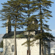 Small orthodox church — Stock Photo