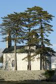 Small orthodox church — Stock Photo
