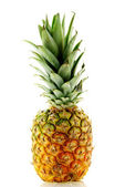 Close up shot of ripe fresh pineapple — Stock Photo