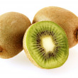 Fresh and juicy kiwi fruits — Stock Photo
