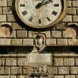 Old tower clock - Stock Photo