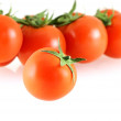 Fresh juicy small tomato with a few — Stock Photo #1145101