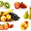 Royalty-Free Stock Photo: Various of fresh jiucy fruits