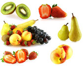 Various of fresh jiucy fruits — Stock Photo