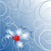 Telón de fondo de navidad — Vector de stock
