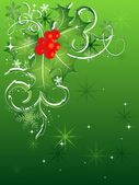 χριστουγεννιάτικο σκηνικό — Διανυσματικό Αρχείο