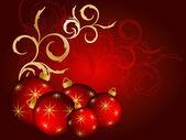 Décor de Noël — Vecteur