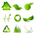 Vector environmental simbols - Stock Vector