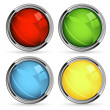 Stock Photo: Vector buttons