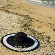 Hat on sand — Stock Photo