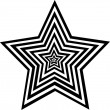 Figure is star — Vector de stock #1333975