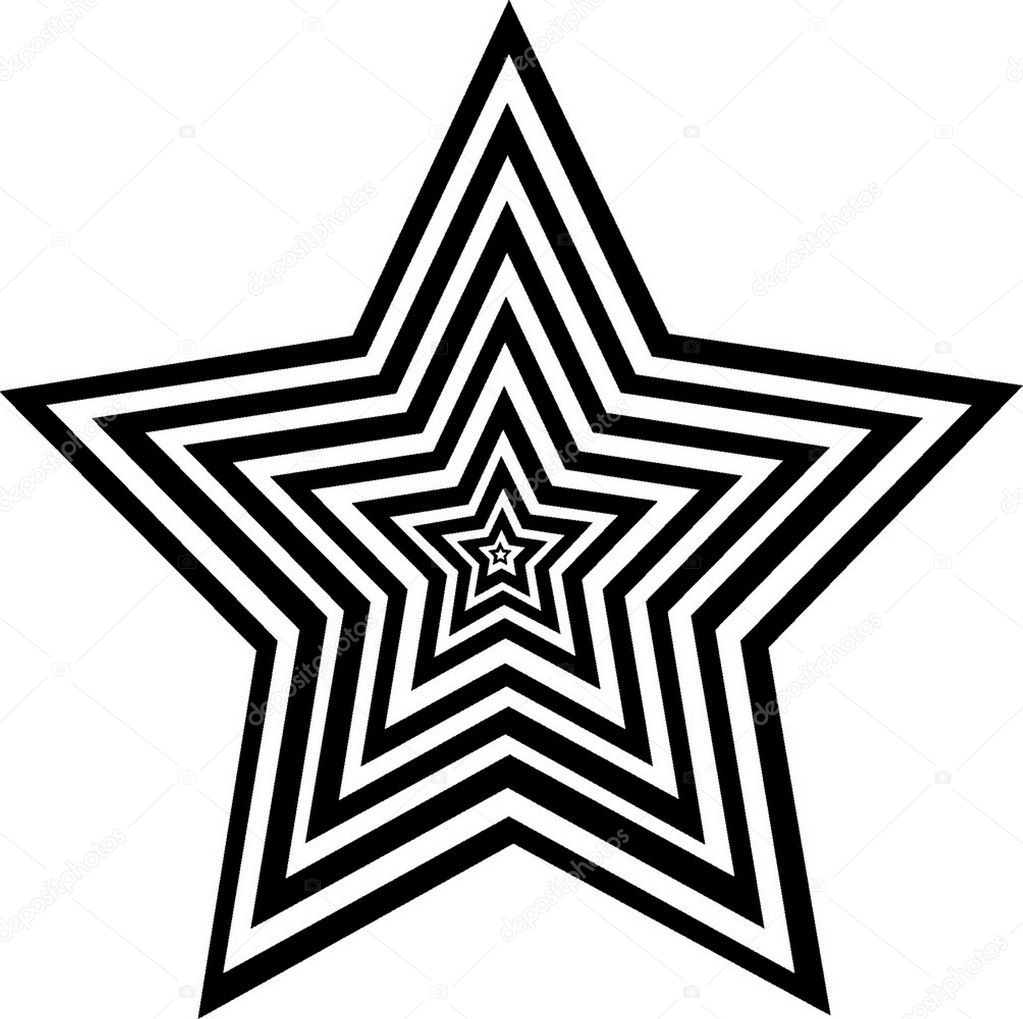 a figure is a star — Stock Vector #1333975