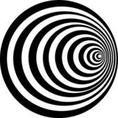 Una figura es una bola — Vector de stock
