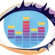 Eye — Stock Vector