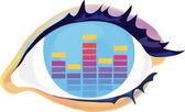 Eye — Stock Vector