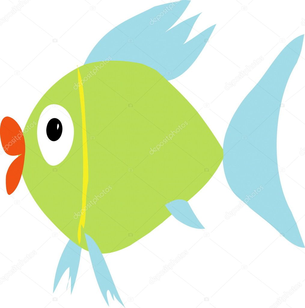 vectorial image of fish — Stock Vector #1621674