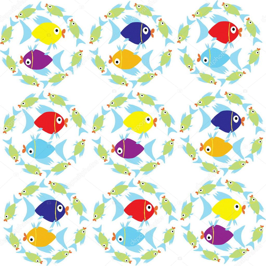 vectorial image of fish — Stock Vector #1629324
