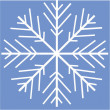 Snowflake — Stock Vector #1639239