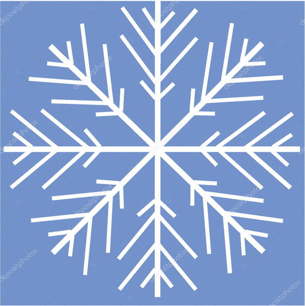 A vectorial image is a snowflake — Stock Vector #1639239