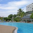 Swimming pool in Thailand hotel — Stock Photo #1134722