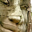 Face of Bayon temple - Stock Photo