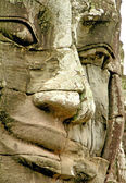 Face of Bayon temple — Stock Photo