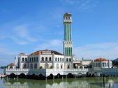 Floating Mosque in Malaysia — Stock Photo