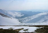 Winter in Carpathian mountains — Stock Photo