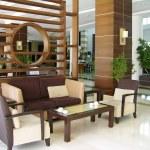 Modern hotel lobby — Stock Photo #1211099