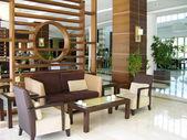 Lobby del hotel moderno — Foto de Stock