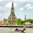 Wat Arun temple, Bangkok, Thailand - Stock Photo