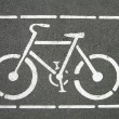 Bicycle sign — Stock Photo #1242862