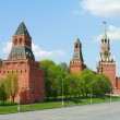 Kremlin towers in Moscow, Russia — Stock Photo