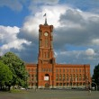 Berlin City Hall (Rathaus) — Stock Photo