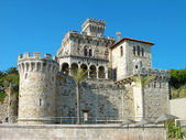 Estoril castle near Lisbon, Portugal — Zdjęcie stockowe