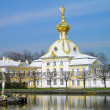 Big Palace in Peterhof, Russia — Stock Photo