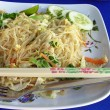Fried noodles — Stock Photo #1259009