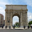 Arch of Triumph in Marseilles - Stock Photo