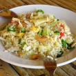 Thai-style fried rice - Stockfoto