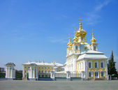 Church of the Big Palace in Peterhof — Stock Photo