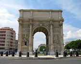 Arch of Triumph in Marseilles — Stock Photo