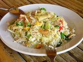 Thai-style fried rice — Stock Photo