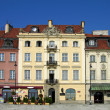Castle Square, Warsaw, Poland - Stock Photo