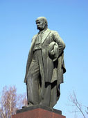 Taras Shevchenko monument — Stock Photo